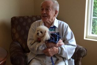 Pet Therapy at Hart Heritage Assisted Living