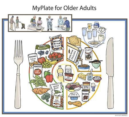MyPlate for Older Adults - Seniors