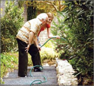 Senior Gardening Activity