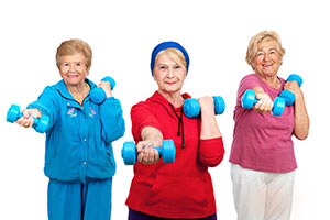 Senior Exercise - Hart Heritage Assisted Living Bel Air Harford County
